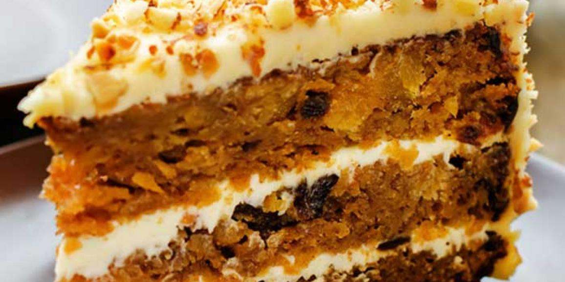 Carrot Cake with Coroli Sunflower Oil